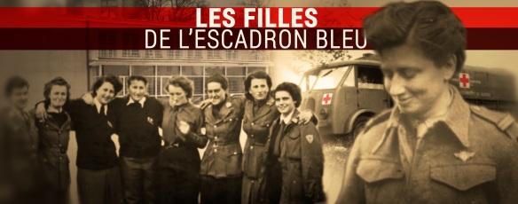 Visuel Les Filles Escadron bleu